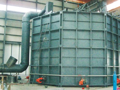 大型水轮发电机退火炉(可拆卸式)